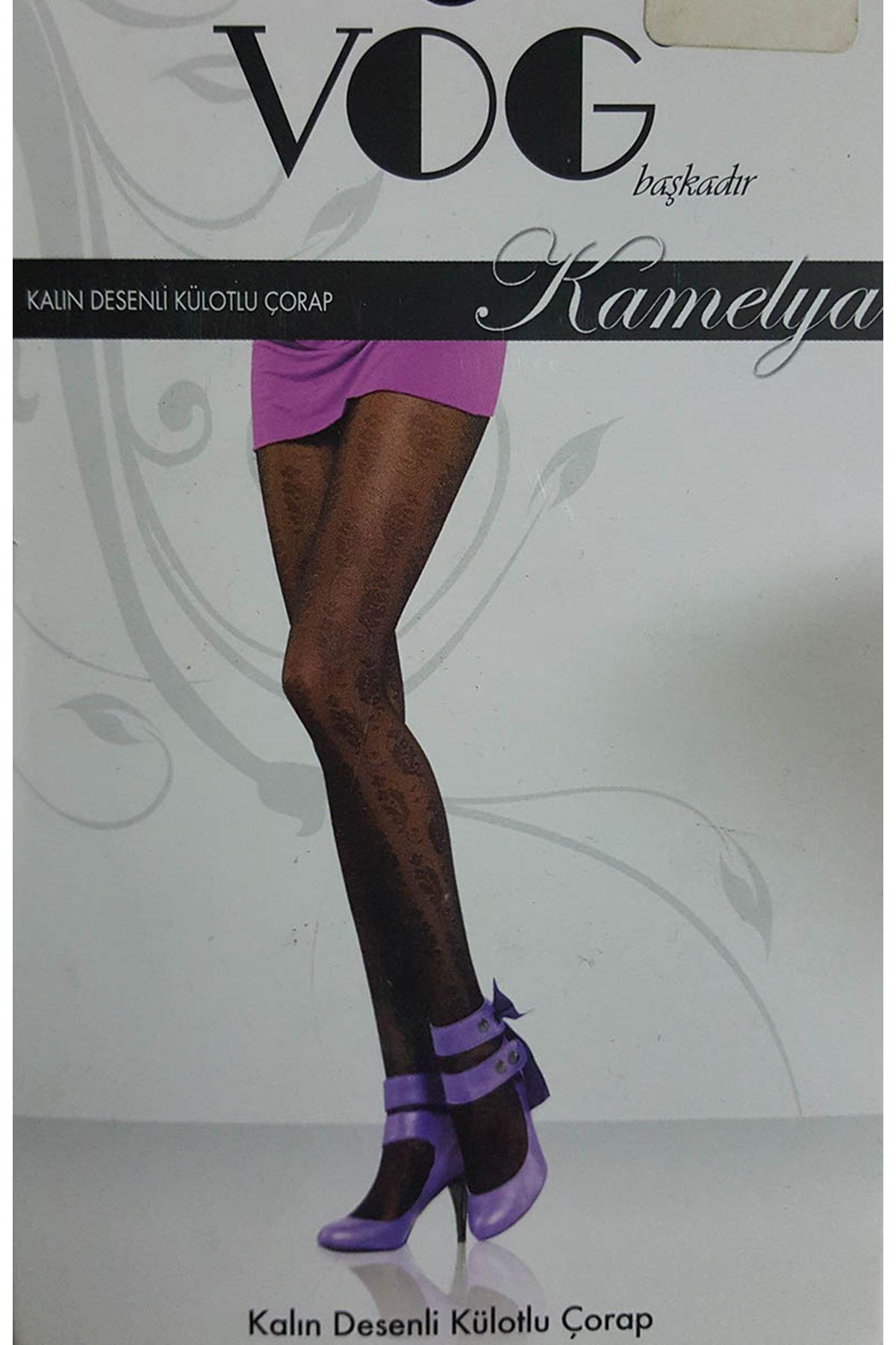 VOG Külotlu Çorap Siyah 18A-723