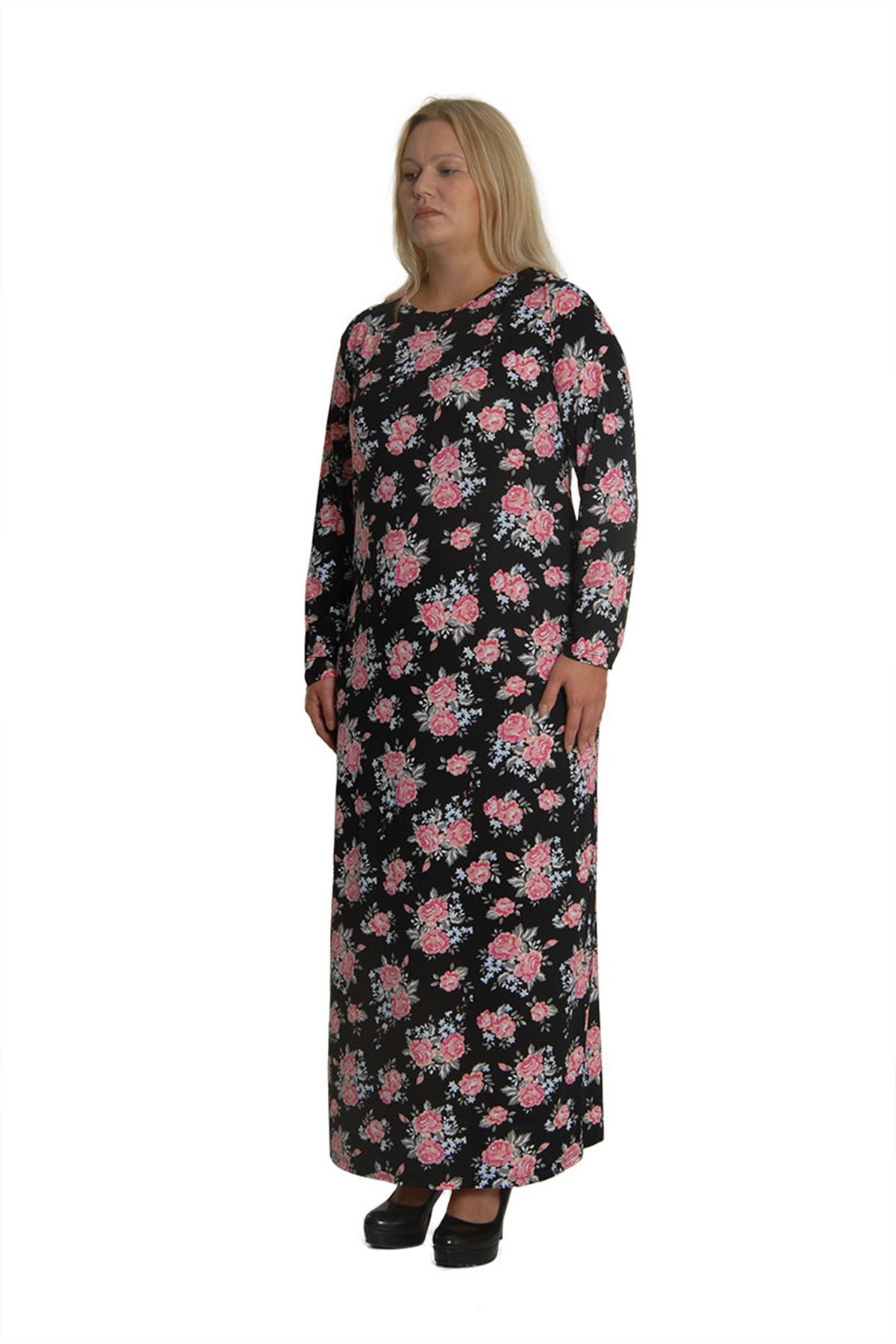 Uzun Penye Elbise 18B-0713