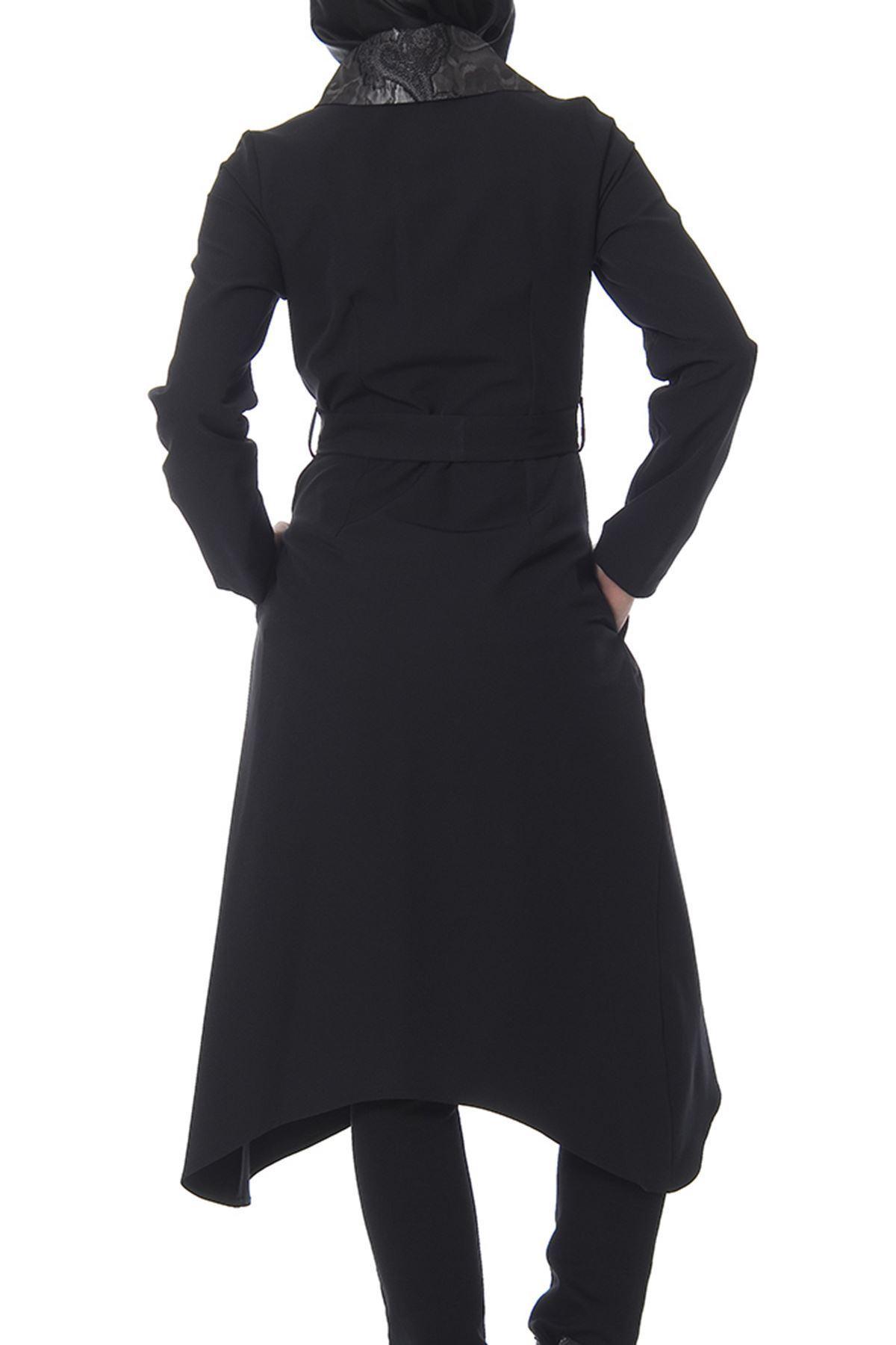 Siyah Fermuarlı Kap G10-100526