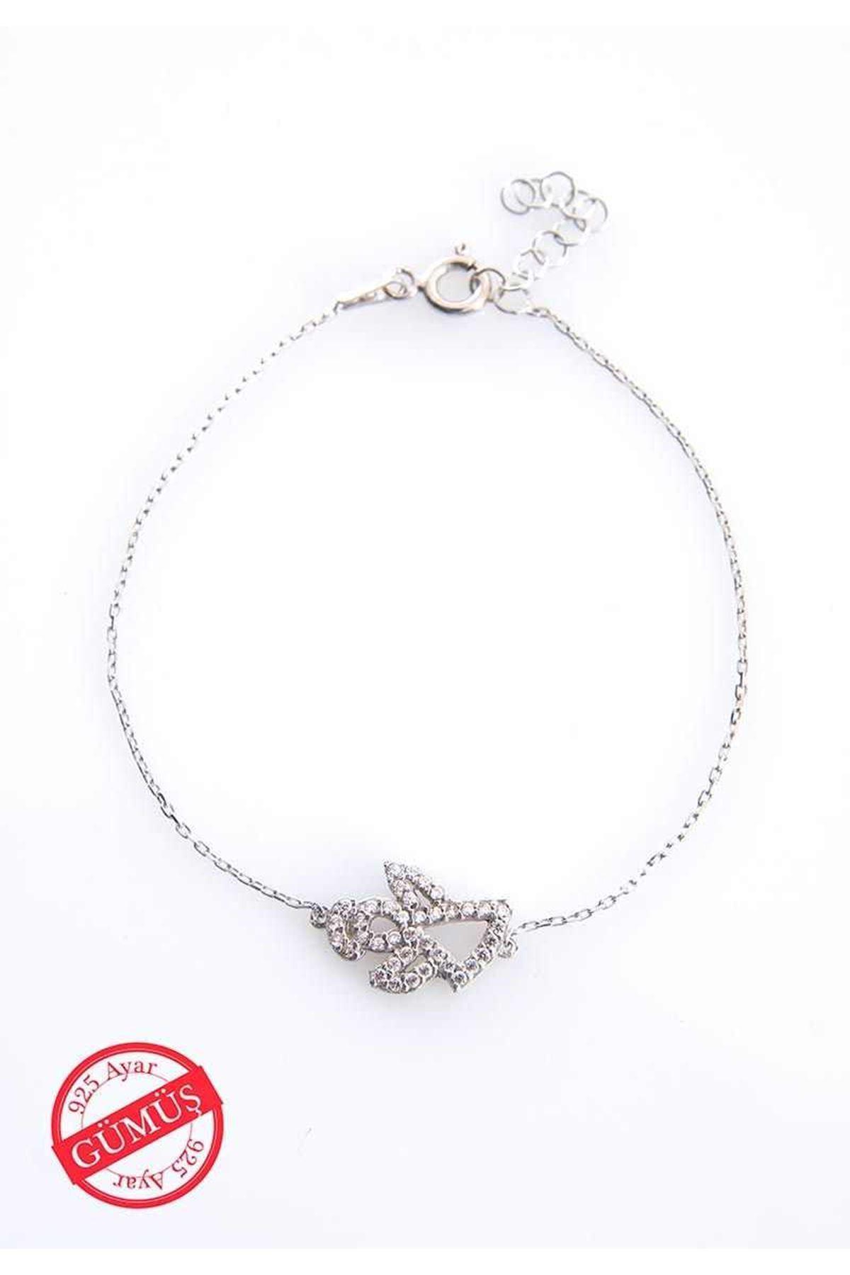 Melek Anne Gümüş Bileklik G-75053