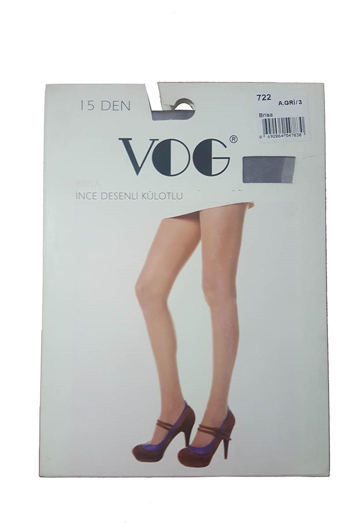 Antrasit Mor Desenli Çorap 11A-4587